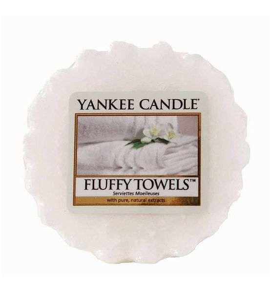 Vonný vosk do aromalampy Yankee Candle  FLUFFY TOWELS 22g/8hod