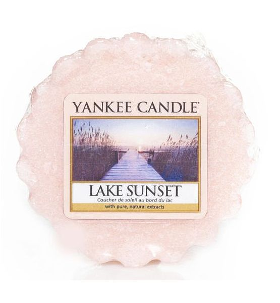 Vonný vosk do aromalampy Yankee Candle LAKE SUNSET  22g/8hod