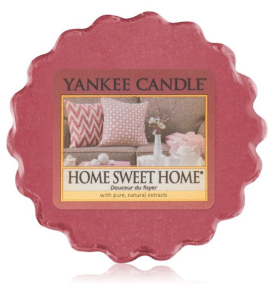 Vonný vosk do aromalampy Yankee Candle  HOME SWEET HOME 22g/8hod