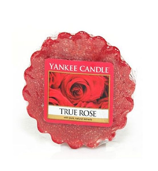 Vonný vosk do aromalampy Yankee Candle TRUE ROSE 22g/8hod