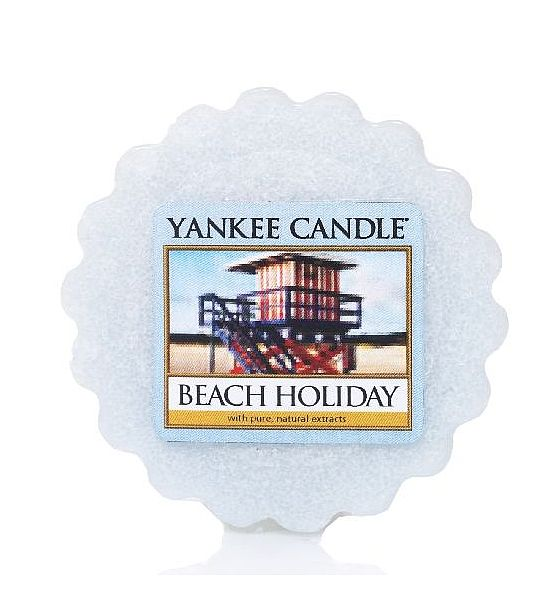 Vonný vosk do aromalampy Yankee Candle Beach Holiday 22g/8hod
