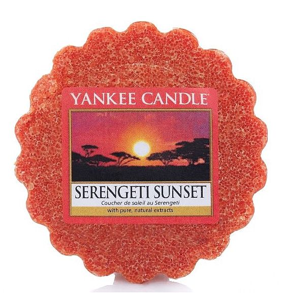Vonný vosk do aromalampy Yankee Candle-  SERENGETI SUNSET  - 22g/8hod