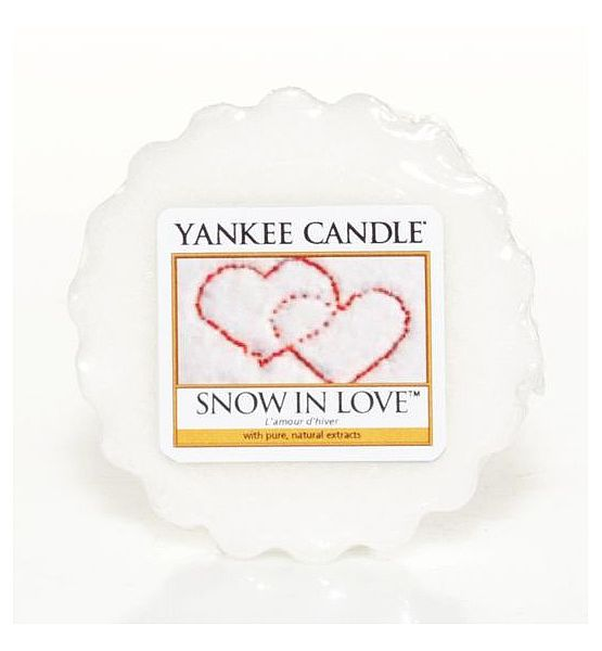 Vonný vosk do aromalampy Yankee Candle Snow In Love 22g/8hod