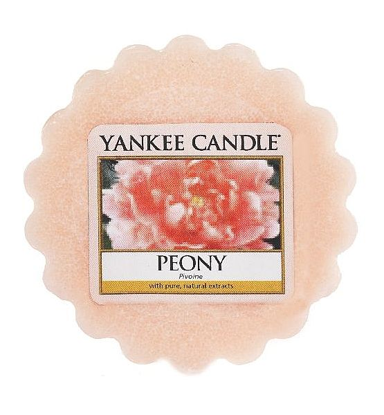 Vonný vosk do aromalampy Yankee Candle Peony 22g/8hod