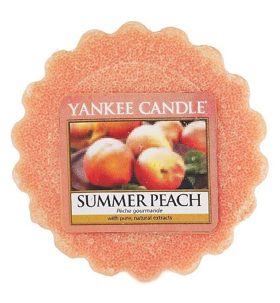 Vonný vosk do aromalampy Yankee Candle Summer Peach 22g/8hod