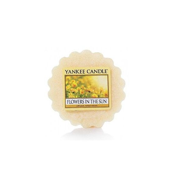 Vonný vosk do aromalampy Yankee Candle Flowers In The Sun 22g/8hod