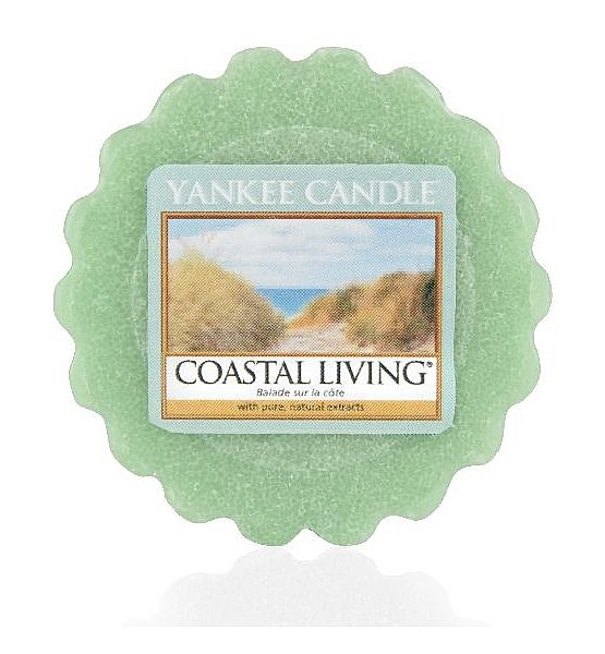 Vonný vosk do aromalampy Yankee Candle Coastal Living 22g/8hod