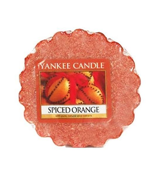 Vonný vosk do aromalampy Yankee Candle Spiced Orange 22g/8hod
