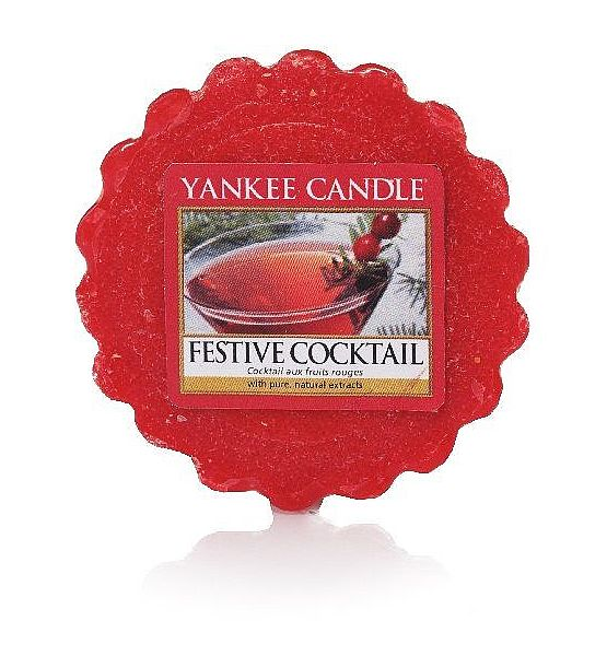 Vonný vosk do aromalampy Yankee Candle FESTIVE COCKTAIL  22g/8hod