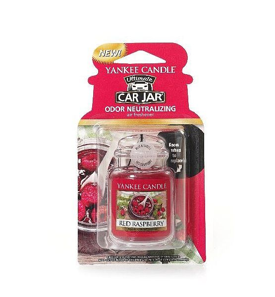 Vůně do auta Yankee Candle visačka Red Raspberry 1ks