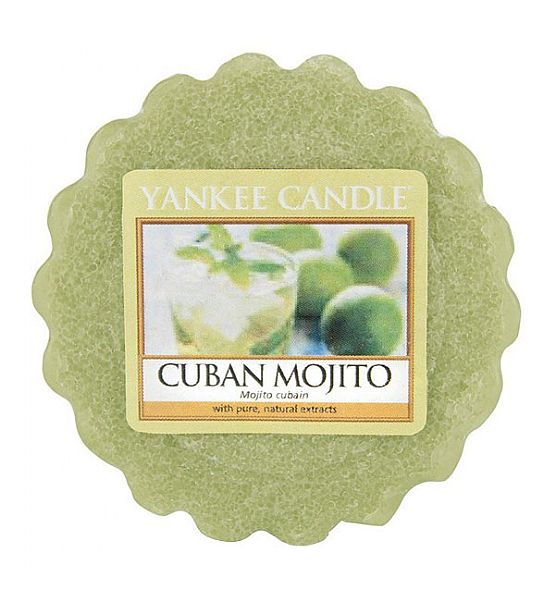 Vonný vosk do aromalampy Yankee Candle Cuban Mojito 22g/8hod