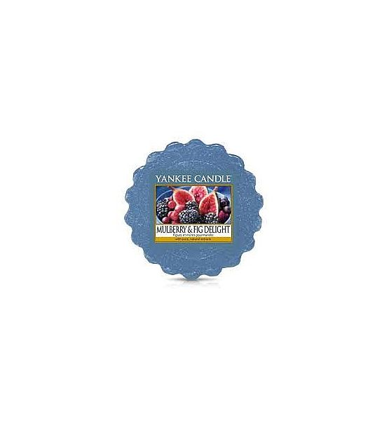 Vonný vosk do aromalampy Yankee Candle Mulberry Fig Delight 22g/8hod