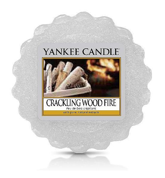 Vonný vosk do aromalampy Yankee Candle CRACKLING WOOD FIRE  22g/8hod
