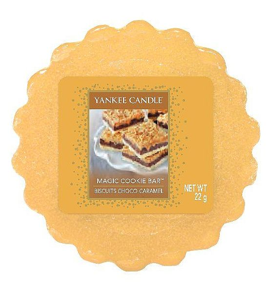 Vonný vosk do aromalampy Yankee Candle Magic Cookie Bar 22g/8hod