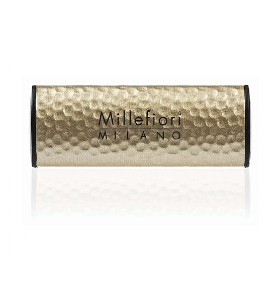 Vůně do auta Millefiori Milano METALLO SHADES Incense and Blond Woods