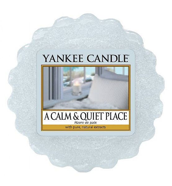 Vonný vosk do aromalampy Yankee Candle A Calm Quiet Place 22g/8hod