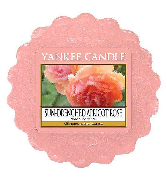 Vonný vosk do aromalampy Yankee Candle Sun Drenched Apricot Rose 22g/8hod