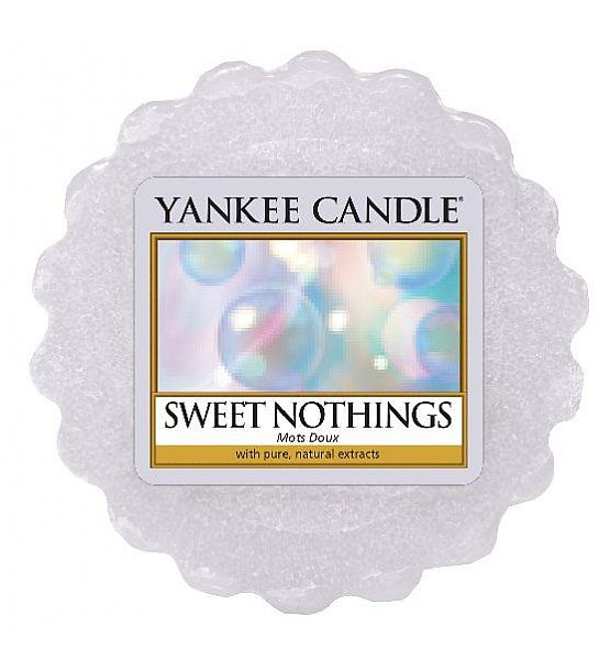 Vonný vosk do aromalampy Yankee Candle Sweet Nothings 22g/8hod