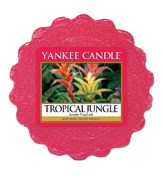 Vonný vosk do aromalampy Yankee Candle Tropical Jungle 22g/8hod.