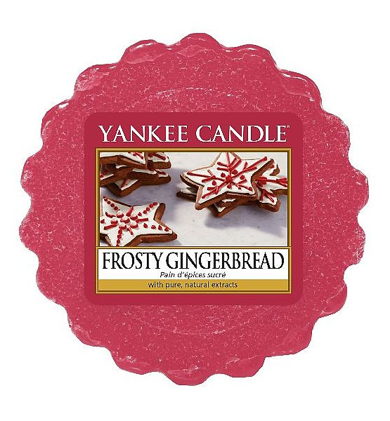 Vonný vosk do aromalampy Yankee Candle Frosty Gingerbread 22g/8hod