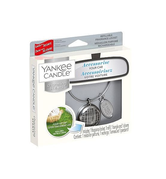 Vůně do auta Yankee Candle Charming Scents Linear Clean Cotton