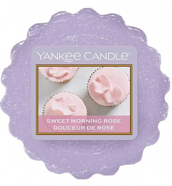 Vonný vosk do aromalampy Yankee Candle Sweet Morning Rose 22g/8hod