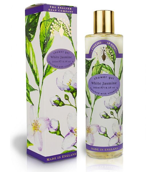 Sprchový gel English Soap - White Jasmine 300 ml