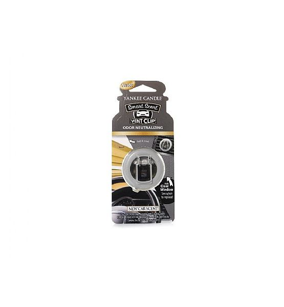 Vůně do auta Yankee Candle Clip New Car Scent 1ks