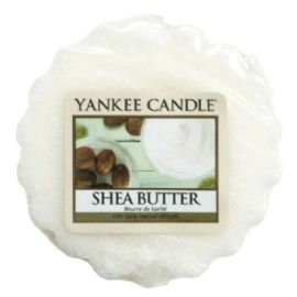 Vonný vosk do aromalampy Yankee Candle  -  SHEA BUTTER - 22g/8hod