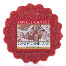 Vonný vosk do aromalampy Yankee Candle-  CANDY CANE LANE  - 22g/8hod