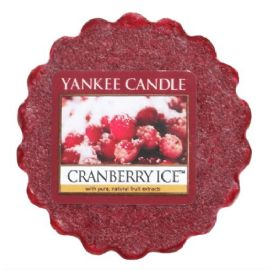 Vonný vosk do aromalampy Yankee Candle-  CRANBERRY ICE  - 22g/8hod