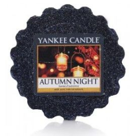 Vonný vosk do aromalampy Yankee Candle  AUTUMN NIGHT  22g/8hod