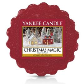 Vonný vosk do aromalampy Yankee Candle-  CHRISTMAS MAGIC  - 22g/8hod