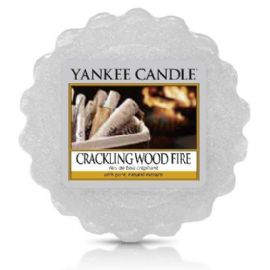 Vonný vosk do aromalampy Yankee Candle-   CRACKLING WOOD FIRE  - 22g/8hod